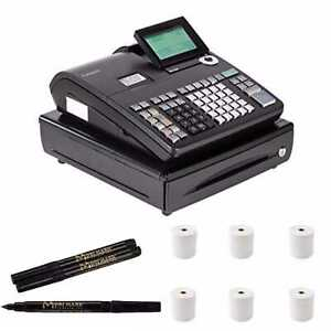 Casio Electronic Cash Register Pcrt500 Counterfeit Bill Detector Pen Bundle