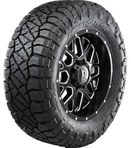 2 Nitto Ridge Grappler Lt285 55r22 Tires 10 Ply E 124 121q 285 55 22