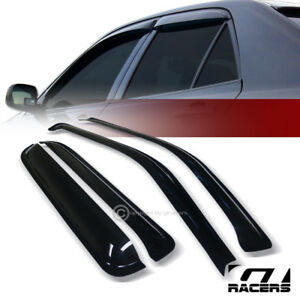 For 1997 2001 Honda Crv Cr V Sun Rain Guard Shade Deflector Window Visors 4pc V2