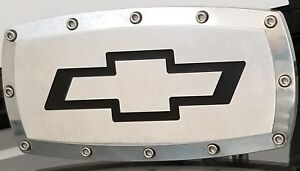 Chevy Chevrolet Logo Trailer Hitch Receiver Cover Plug Cap 2 Preowned Free Ship