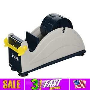 Jvcc Ex 17 Steel Desk Top Tape Dispenser 2 In Wide twin Rollers