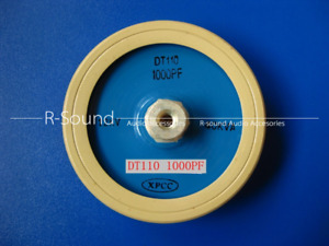 1pc Dt110 1000pf 12kv 40kva Frequency High Voltage Ceramic Capacitor