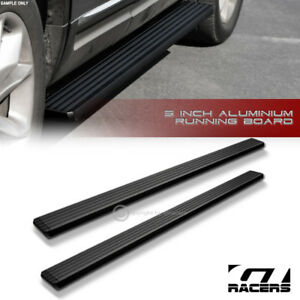 2015 Chevy Colorado Extended 5 Matte Blk Aluminum Side Step Running Boards I4