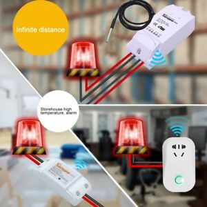 Ds18b20 Waterproof Digital Probe Temperature Sensor Thermometer With 1 M Cable