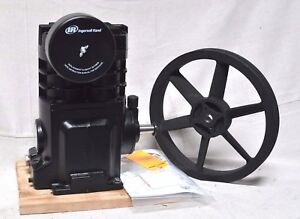 Ingersoll Rand Ss5 Bare Air Compressor Pump 1 Stage Splash Lubricated 40 Oz Cap