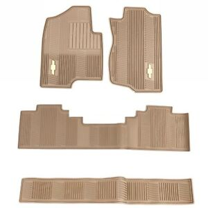 Complete All Weather Floor Mat Set Cashmere Fits Chevy Tahoe Suburban Avalanche