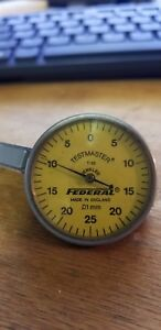 Federal T 88 Testmaster Metric Dial Test Indicator Range 01mm