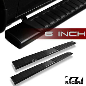 For 2009 2018 Ram 1500 Quad 6 Oe Style Aluminum Black Side Step Running Boards