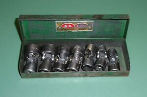 Sk Tools 7 Piece 3 8 Drive Sae Flex Swivel Socket Set With Storage Box Case 6pt