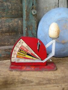 Antique Jiffy Way Egg Grading Scale