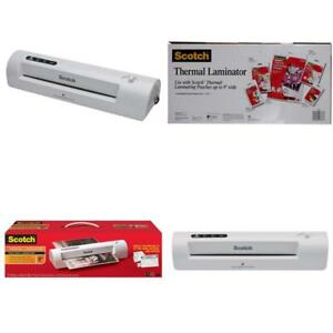 Scotch Thermal Laminator 2 Roller System tl901c