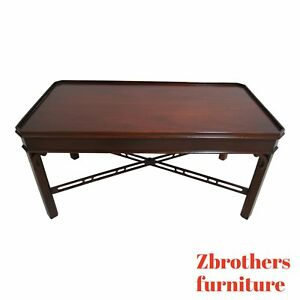 Councill Furniture Federal Mahogany Coffee Serving Table