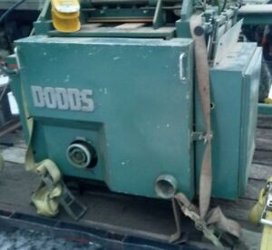 Dodds Se 15 Automatic Dovetail Machine woodworking Machinery warranty