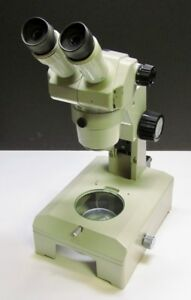 Nikon Smz 1b Stereo Microscope With 15x 14 Eyepieces Stand Base Glass Stage