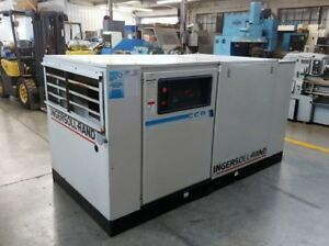 Ingersoll Rand 100hp Screw Air Compressor 446 Cfm 125 Psi Fully Serviced Tested