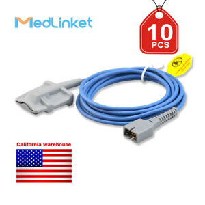 Med linket Covidien Nellcor Compatible Direct connect Spo2 Sensor 10pcs
