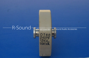 1pc Dt60 240pf 12kv 15kva Frequency High Voltage Ceramic Capacitor