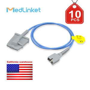 Med linket Covidien Nellcor Compatible Short Spo2 Sensor 10pcs