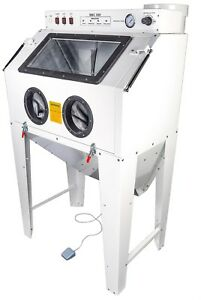 Jegs 81300 Vertical Sandblast Cabinet Full Front Load Overall 37 5 In L X 38 I