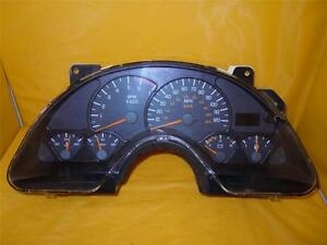 99 00 01 02 Camaro Speedometer Instrument Cluster Dash Panel Gauges 132 654