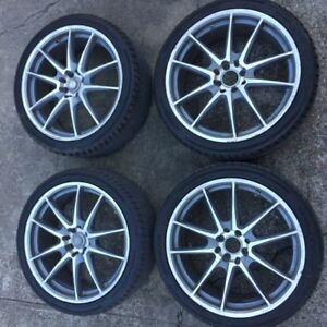 Set Of Four 18 Inch Wheels And Tires