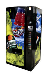 Dixie Narco 501e 20 Oz Bottle Machine Gatorade Twister Vending Machine