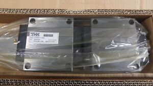 thk Hsr55b2uu 2580l Linear Rail And Dual Carriage Bearing Set