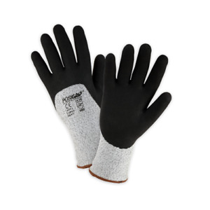 West Chester Winter Gloves Safety Work Gloves Cut Resistant Latex Dipped Large
