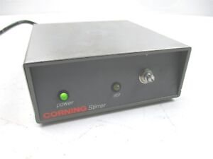 Corning Stirrer Pc 141 Magnetic Laboratory Quality Excellent Condition Stainless