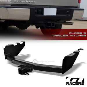 For 2007 2018 Silverado Sierra Class 3 Trailer Hitch 2 Receiver Rear Bumper Tow