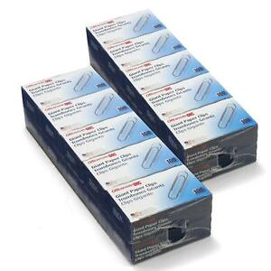 Officemate Giant Size Smooth Paper Clips 20 Packs Of 100