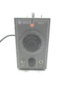 Cml Stroboscope Model 1210b Quality Vintage Laboratory Light Source Measurement