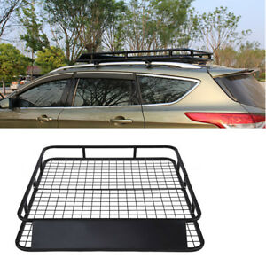 Automotive Universal Cargo Carrier Roof Rack Travel Suv Luggage Carrier Basket