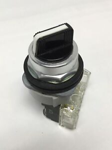 Allen Bradley 800t h2a Selector Switch 2 position Rotary Knob Maintained 30mm