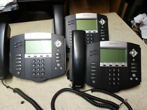 Lot Of 10x Polycom Soundpoint Ip550 Sip Digital Voip Telephone