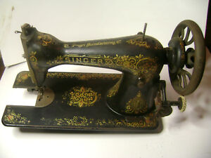 Rare Singer Series C Treadle Sewing Machine Wittenberge Austria Germany Plant