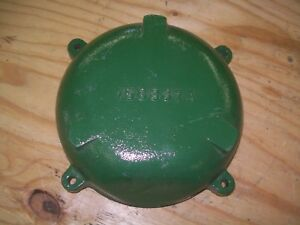 Oliver 1650 1655 White 2 70 Farm Tractor Pto Clutch Cover Very Nice