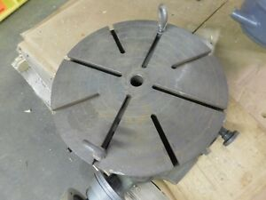 Troyke 18 Vertical Rotary Table Model T 18