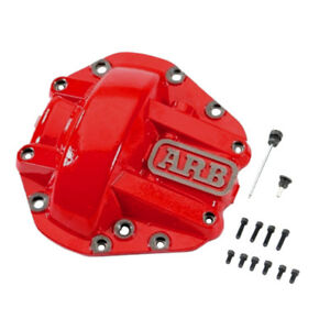 Arb Red Powder Coated D44 Nodular Iron Hd Differential Cover Arb750003