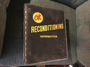 Vintage 1958 To 1960 Chevy Shop Manual Ok Reconditioning Chevy Service News