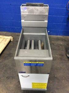 Pitco 35c s Gas Free Standing 40lb Deep Fryer