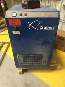 Quincy Non cycling Refrigerated 3 Phase Air Dryer 208 230 Volt 4102000725