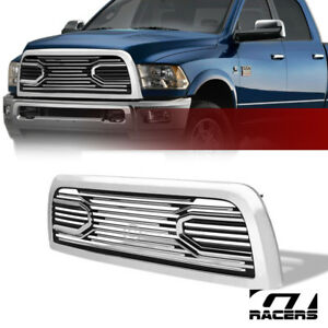 For 2010 2018 Dodge Ram 2500 3500 Chrome Big Horn Front Hood Bumper Grill Grille