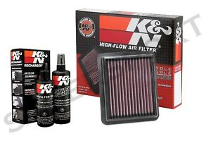 K N 33 5072 Air Intake Drop In Filter Cleaning Kit For 2018 2019 Accord 1 5l
