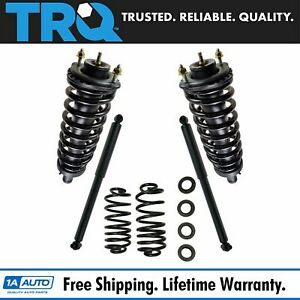 Trq Complete Strut Assembly Shock Absorbers Rear Conversion Spring Kit For Gm