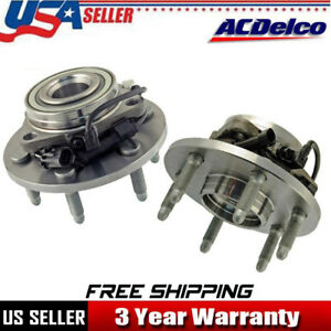 Acdelco Front Wheel Bearing Hub Assembly For Chevy Silverado 1500 Tahoe Gmc