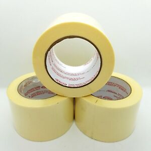 Cantech Economy Industrial Masking Tape 3 In X 60 Yard 72mm X 55m 12 Rolls