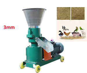 New 3mm Chicken Feed Pellet Mill Machine Farm Feed Pellet Making Machine Us