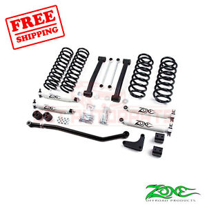 Zone Offroad 4 Lift Kit For 99 04 Jeep Grand Cherokee Wj 4wd Gas nitro Shocks