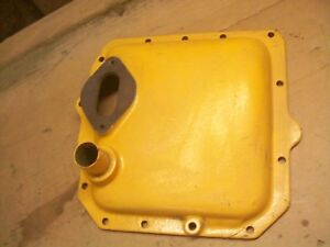Oliver Crawler Cletrac Tractor Hydraulic Delete Cover